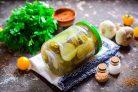 Салат из огурцов с горчицей и маслом на зиму