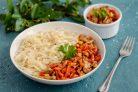Рисовая лапша с перцем