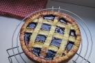 Пирог с вишневым вареньем
