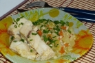 Рыба с кабачками в мультиварке