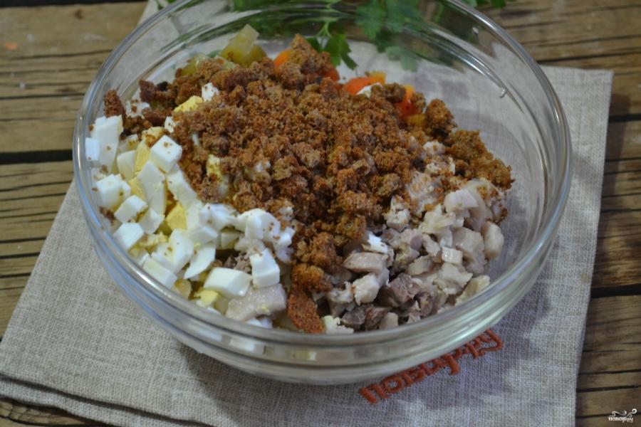Салат из огурцов с морковкой