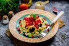Салат с черносливом и гранатом