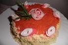 """Салат-торт """"Для милых дам"""""""