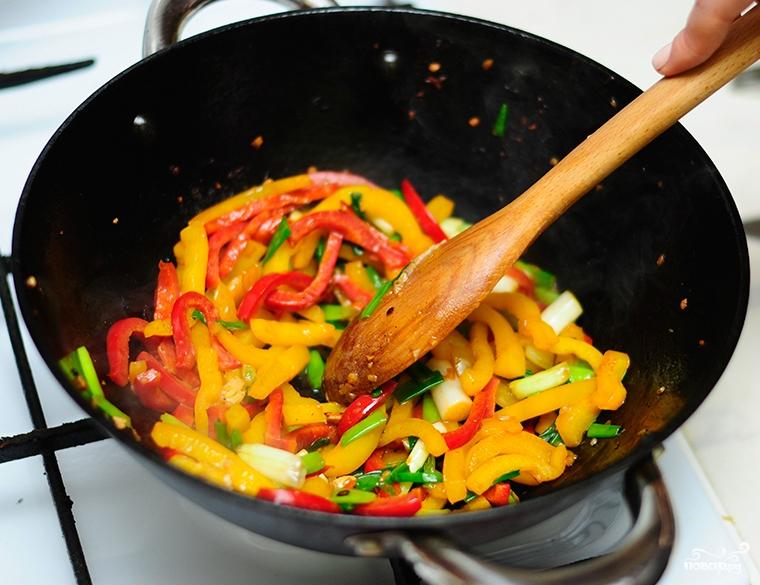 Китайская лапша Ло Мейн Домашние рецепты 3