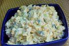 Рисовый салат с кукурузой