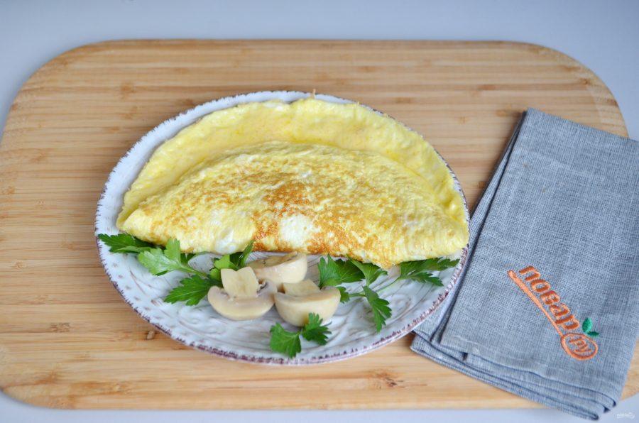Рецепт омлета с сыром