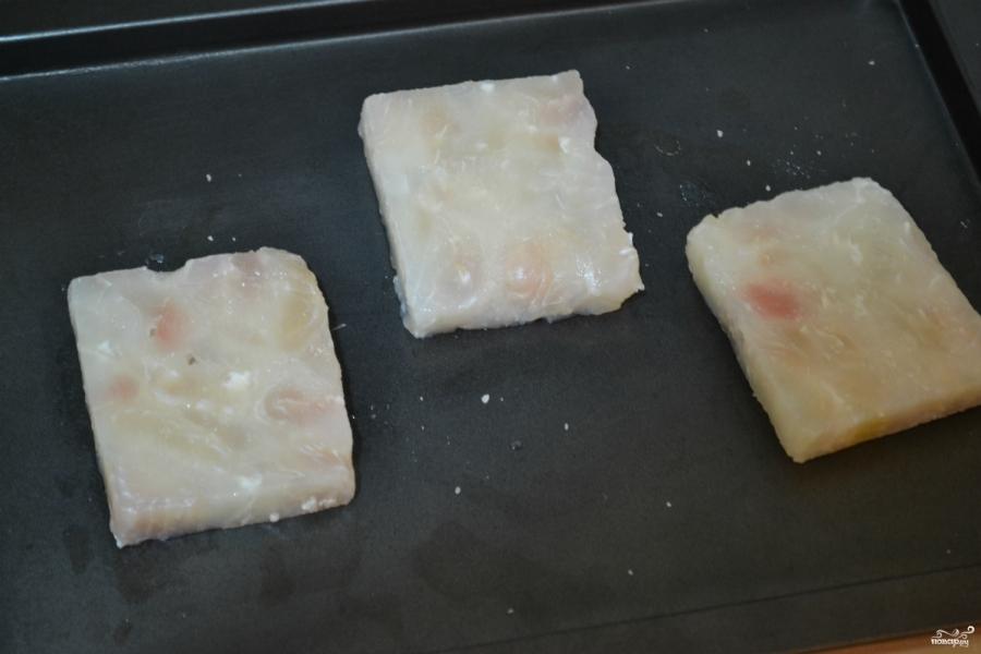 Рыба, запеченная под молочным соусом