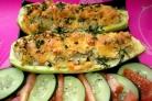 Брокколи с кабачками в духовке