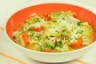 Овощной суп с йогуртом
