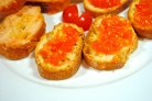 Тосты с помидорами