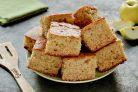 Постный пирог с яблочным пюре