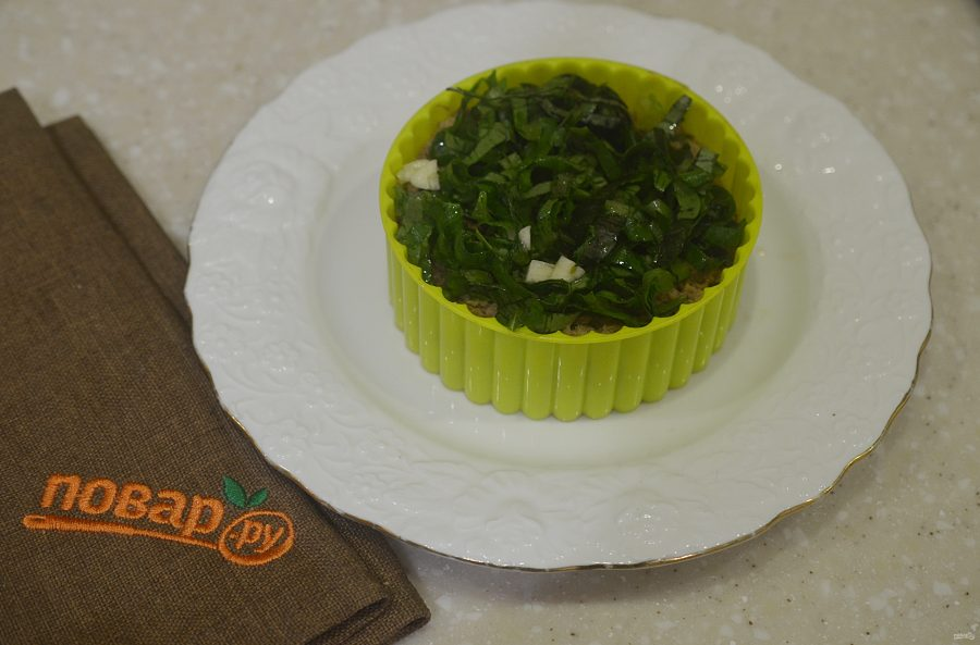 Салат с тунцом и моцареллой