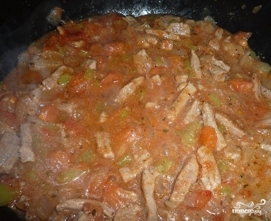 Мясо по-турецки