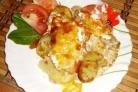 Курица по-французски с картошкой