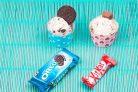 Домашнее мороженое с КитКат и Орео
