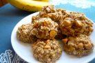 Печенье овсяно-банановое