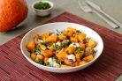 Салат из тыквы с луком