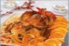 Рождественская индейка с апельсинами