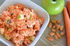 Морковно-яблочный салат