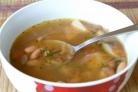 Суп с фасолью в мультиварке