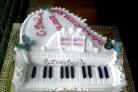 Торт Пианино