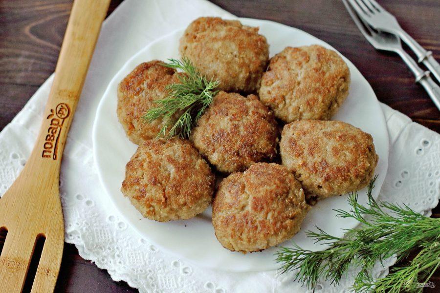 Котлеты из куриной голени с картошкой