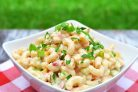 Сливочный макаронный салат