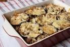 Говядина с баклажанами и кабачками