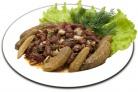 Фасоль с солеными огурцами