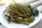Маринованный зеленый лук на зиму