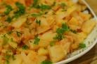 Тушеная кислая капуста с картошкой