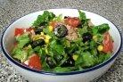 Новогодний салат с тунцом консервированным