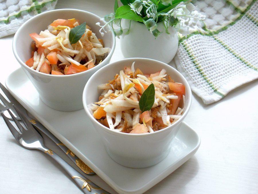 Салат с рубцом