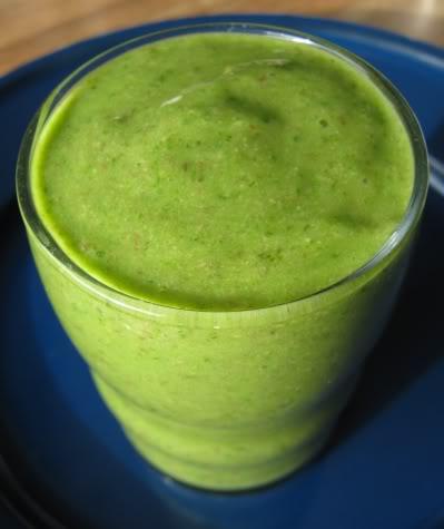 Рецепт Зелёный коктейль