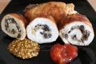 Рулетики из куриной грудки с грибами