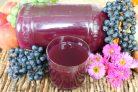 Сок виноградно-яблочный на зиму