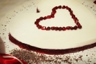 Диетический десерт на День святого Валентина