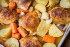 Курица в духовке с картофелем