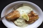 Рыба под соусом Тартар в духовке