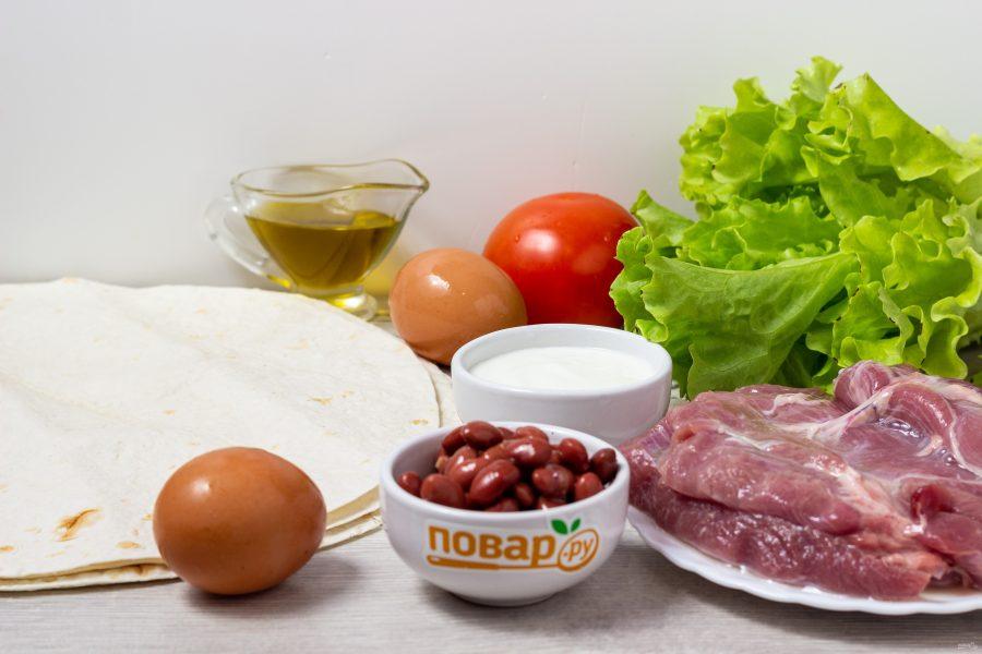 Буррито из индейки на завтрак