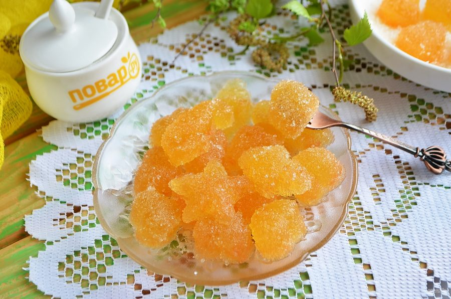 Домашний мармелад из цитрусовых