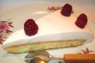 Торт с йогуртом и желатином