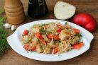 Салат с корнем сельдерея и курицей