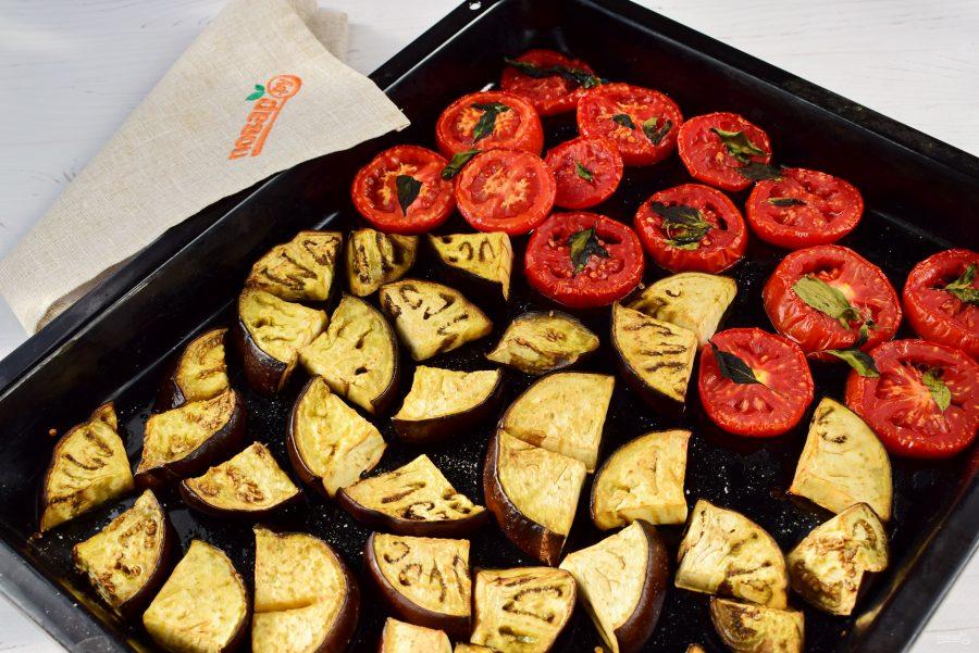 Соус-дип из запеченных баклажан