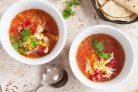 Мексиканский суп с курицей и рисом