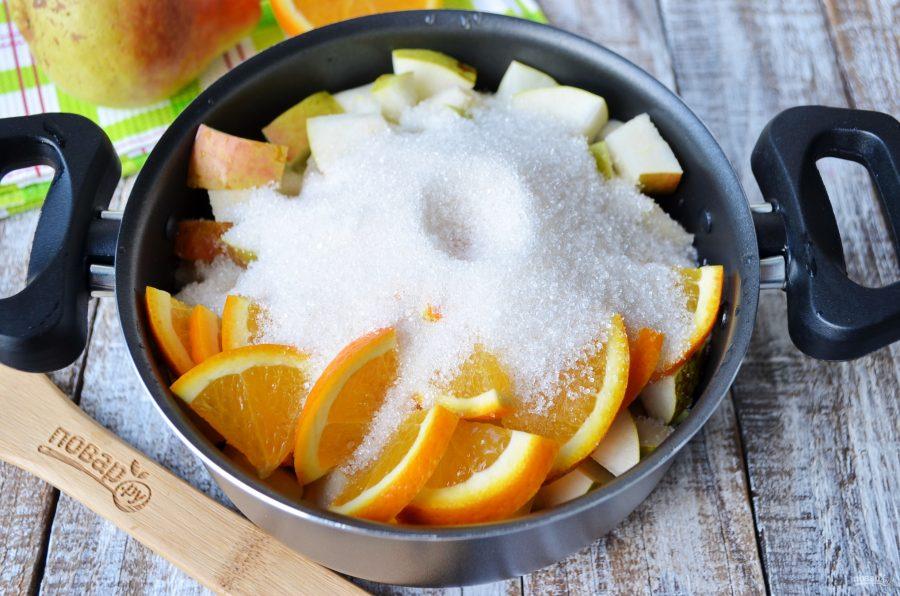 Варенье из груш с апельсинами