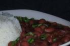 Луизианская красная фасоль и рис