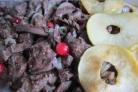 Печень с яблоками в духовке
