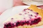Cлоеный пирог с брусникой