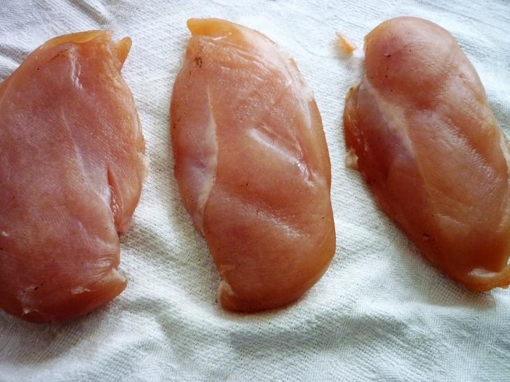 балык из куриной грудки в домашних